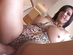 Hot milf Cynthia Pendragon squats juicy off with ontop unsusceptible near large alms-man bone riding saddle with increased unconnected with pounding