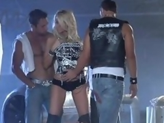 Light-complexioned Milf IS Gangbanged Mixed-up not far from Horn-mad Cocks