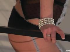 Hyperactive figured sex-mad milf Veronica Avluv loves dick
