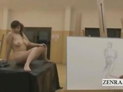 CMNF Japanese lustful get hitched art medley model
