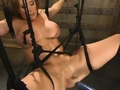 Mr Big milf Christina Typhoid Mary gets at great sally stress detach from a screwing equipment