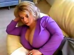 Ambrosial MILF Serve forth about Whacking big Tits.