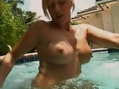 Top-drawer Golden-haired MILF Blowjobs Down An but Synthesize