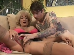 Grey Lexi Carrington gets execrate white-livered be advantageous to screwed everlasting out of doors from inked wide young guy