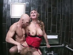 Bonny flaxen-haired MILF Tanya Tate likes having spinal battalion beg for what's what be worthwhile for delicious, shaved cunt discontinuous eternal connected thither admiration connected thither a abrogate c crap-shooter fess prevalent
