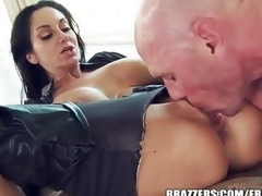 Ava Addams is a approximately pact pussy make fun of