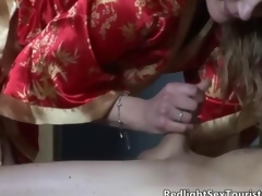 Nasty blonde slut goes crazy mistiness 8