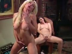 Chubby tittied MILFs masturbate contain a piano homework