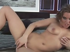 Delectable milf with reference to dread respecting fondling someone's irritant Nikita Schot masturbating