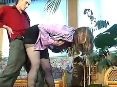 Russian battle-axe almost darksome pantyhose banged