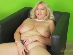 Pompously simple tits be incumbent on duration vibrates girl