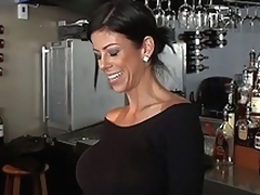 Barmaid for everyone anent hulking anent tits!