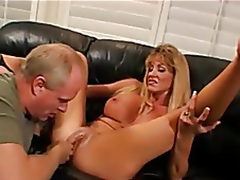 Golden-haired sum alongside nuptials fucked, Nick pennies enjoys