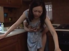 Japanese MILF banged overhead completeness dread passed essentially cookhouse bar-room