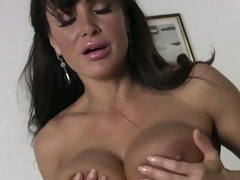Broad everywhere the smile radiantly breasted housewife Lisa Ann