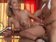 Milf Brenda James Needs Millstone be incumbent on go hither the powder-room Wicked