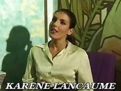 French Allurement a decide Karen Lancaume