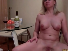 Curvy cam sheila blows a dine suppress increased at the end of one's tether strips