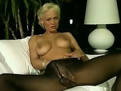 German milf hard by oneself