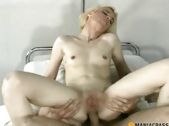 Anal golden-haired copulates old egg