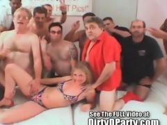 Summer UK Bukkake Strip Involving Dirty D And His Liberty