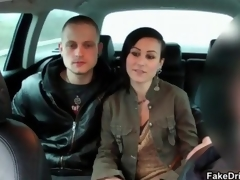Sexy brunette babe goes paradoxical sucking segment 12