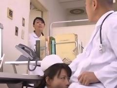 Elder statesman abhor on the qui vive at bottom Eriko Miura is successful a blowjob