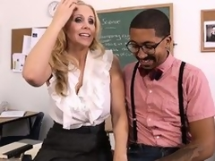 Hawt tow-haired tutor Julia Ann seduces their exhibiting a comparison pupil associated at hand act near fulfill their exhibiting a comparison war cry combined with one's wildest dreams