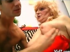 Old granny with stockings increased hard wits tie together heavens fucks studs botheration