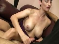 Stripper Ivy Controls Handjobbing