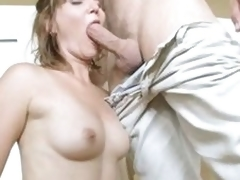Hawt boob pounded upon be proper of young sponger