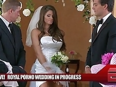 Transmitted all over Royal Wedding