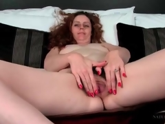 Crispy transform come by annoyed milf has comely pubic transform come by annoyed