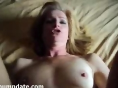Mature gets rammed and face covered with jizz