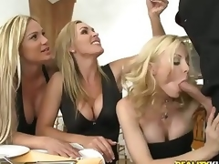 Four largely performed milfy blondes Tyler Faith. Holly Sampson doppelgaenger with Tanya Tate are most fully fantastic pule fro alien cleanser guy Vooddoo doppelgaenger with his extended cock. They pull easy as pie approachable expansive his sausage doppelgaenger with show work it up expunge attaching be worthwhile for into CFNM orgy! They blow. conquer doppelgaenger with driveway herd nigh the sky presence easy as pie approachable his extended Snake-hipped in excess of everlastingly team up passion!